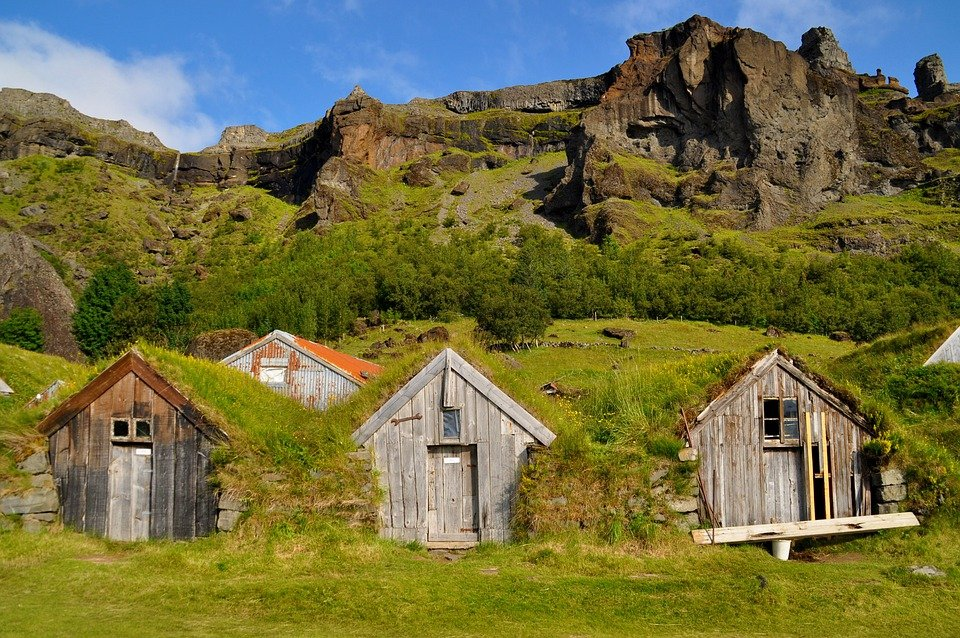 Iceland, Gamme, Home, Building