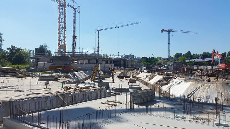Site, Construction, Home, Construction Work