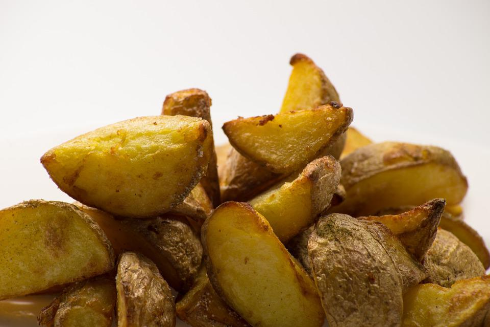 Potato, Potatoes, Fried, Home Fries, Cottage Fries