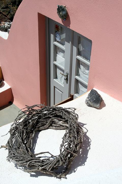 Santorini, Island, Greece, Cyclades, Home
