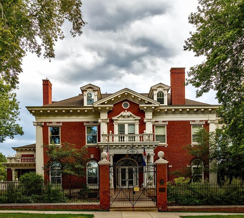 Denver, Colorado, City, Governor's Mansion, House, Home