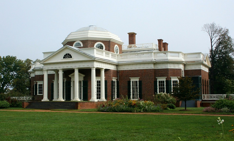 Monticello, Dome, Museum, House, Home