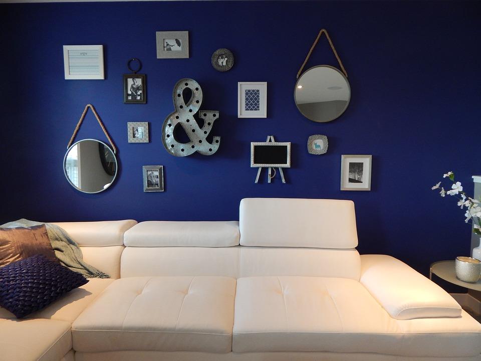 Couch, White, Living Room, Sofa, Decor, Home, Interior