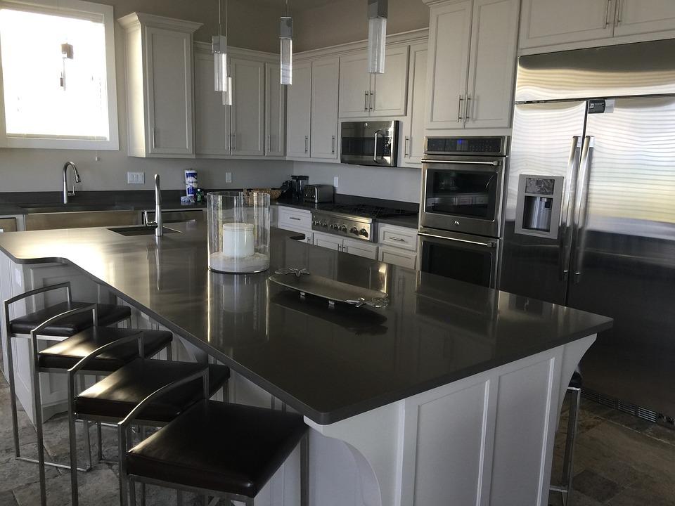 Kitchen, Beach, Home, Luxury Kitchen, Interior, Cabinet
