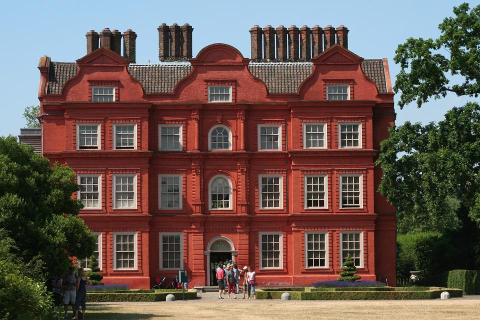 Home, Country House, Building, Red, London, England