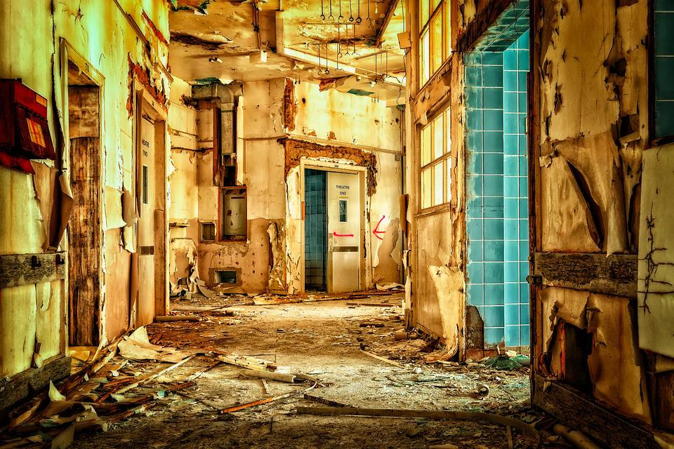 Lost Places, Building, Lapsed, Broken, Home, Pforphoto