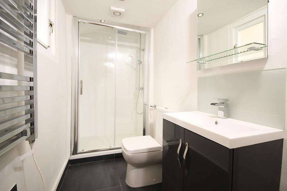 Free photo Home Modern Luxury Bathroom Shower Design - Max Pixel