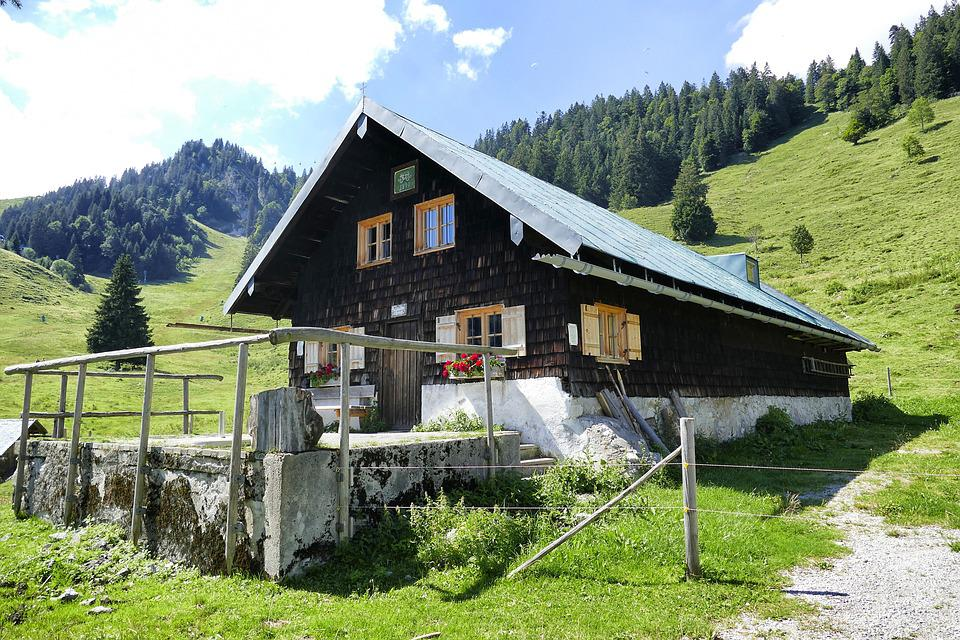 Wood, Nature, Home, Bungalow, Chalet, Woods, Tribe