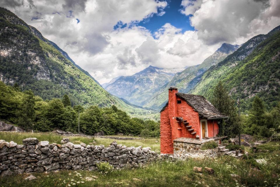 Nature, Mountains, Switzerland, Landscape, Alpine, Home