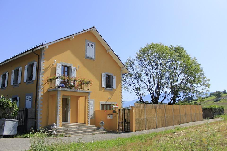 Suburb, House, Forest, Nature, Estate, Home, Landscape