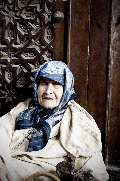 Old, Woman, People, Home, Old Age, Portrait
