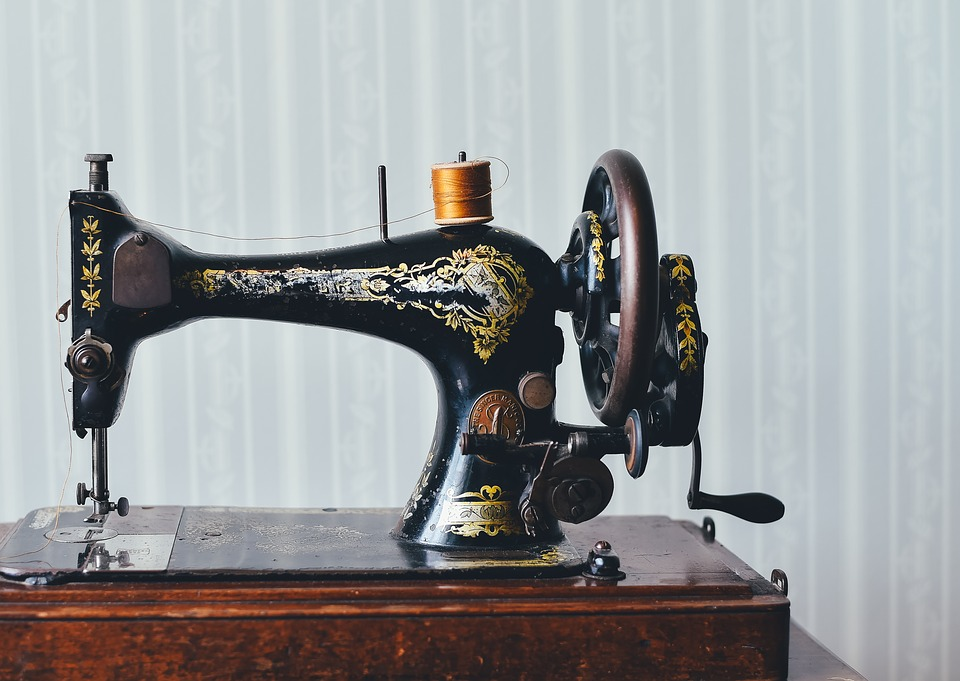 Antique, Home, Old, Retro, Sewing Machine, Vintage