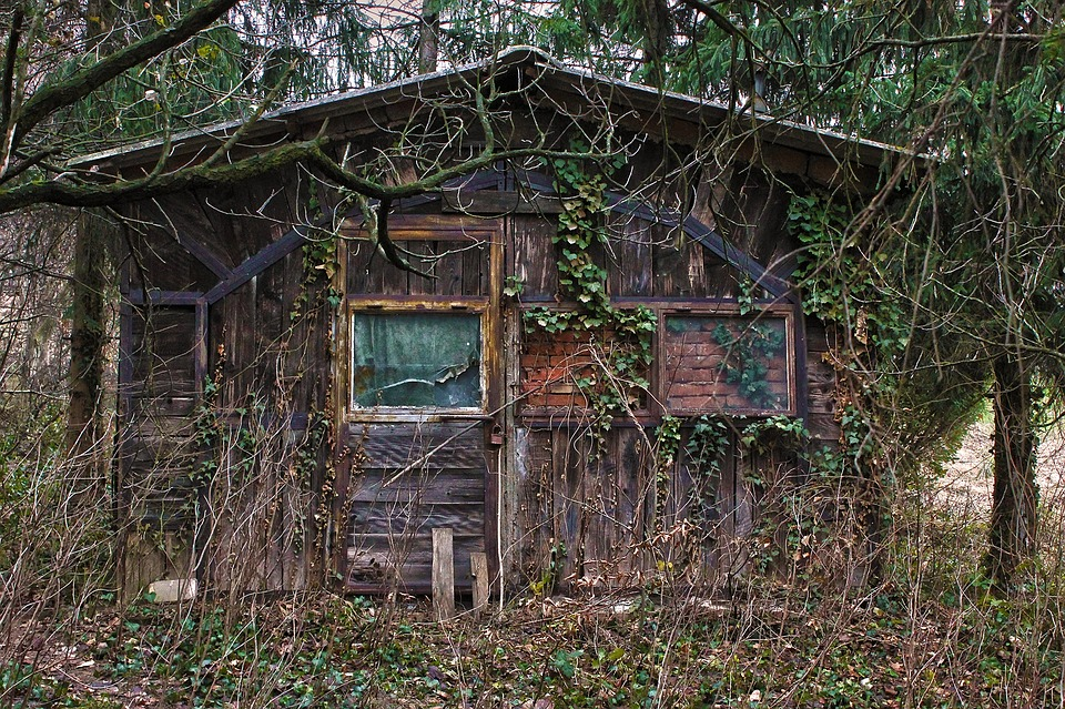 House, Abandoned, Old, Home, Dark, Window, Scary