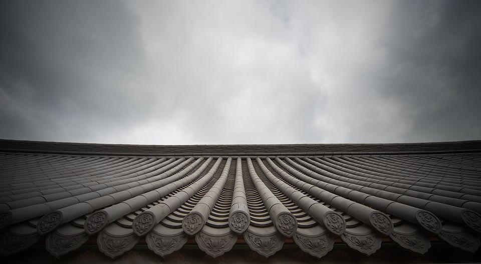 Line, Classic, Roof, Roof Tile, Sky, Home, Cloud