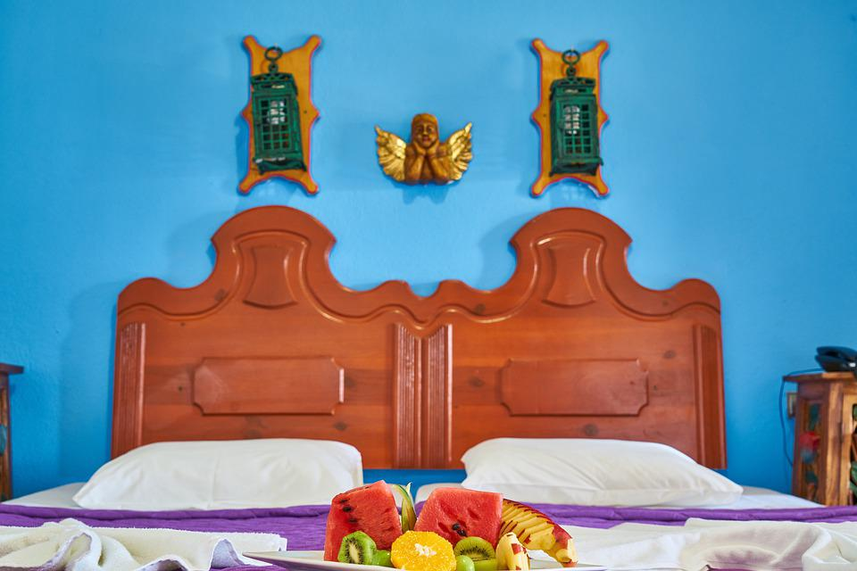 Room, Home, Hotel, Architecture, Inner, Bed, Wall