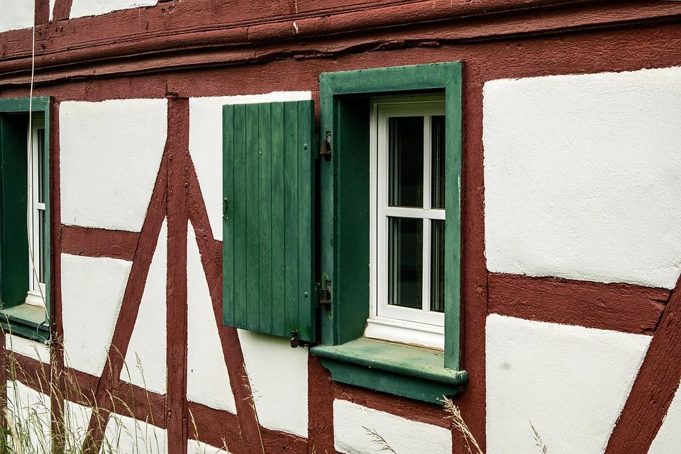Window, Truss, Shutter, Fachwerkhaus, Home, Building