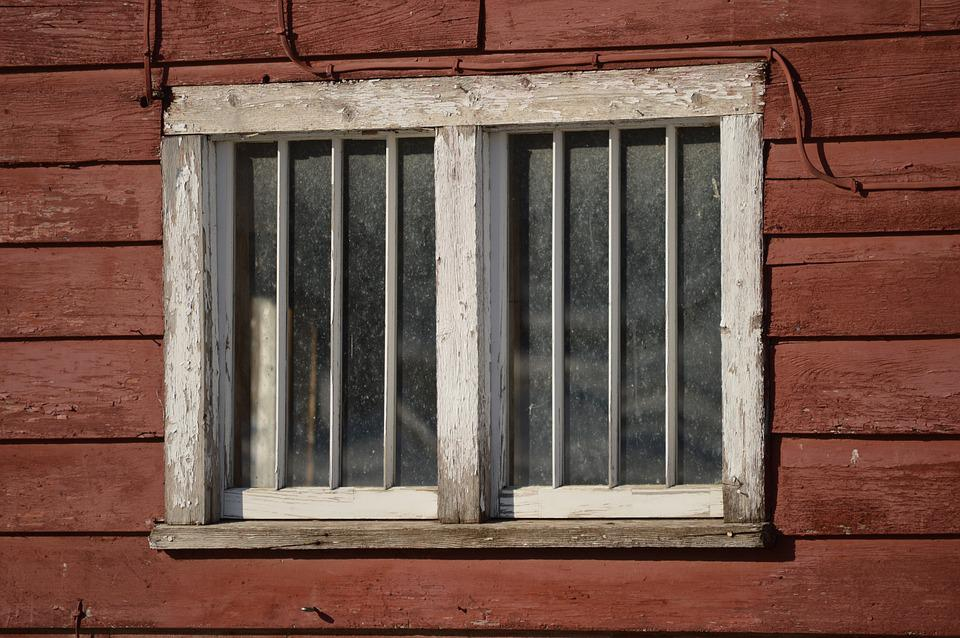 Window, Wood, Barn, Home, Weathered, Texture, Cottage