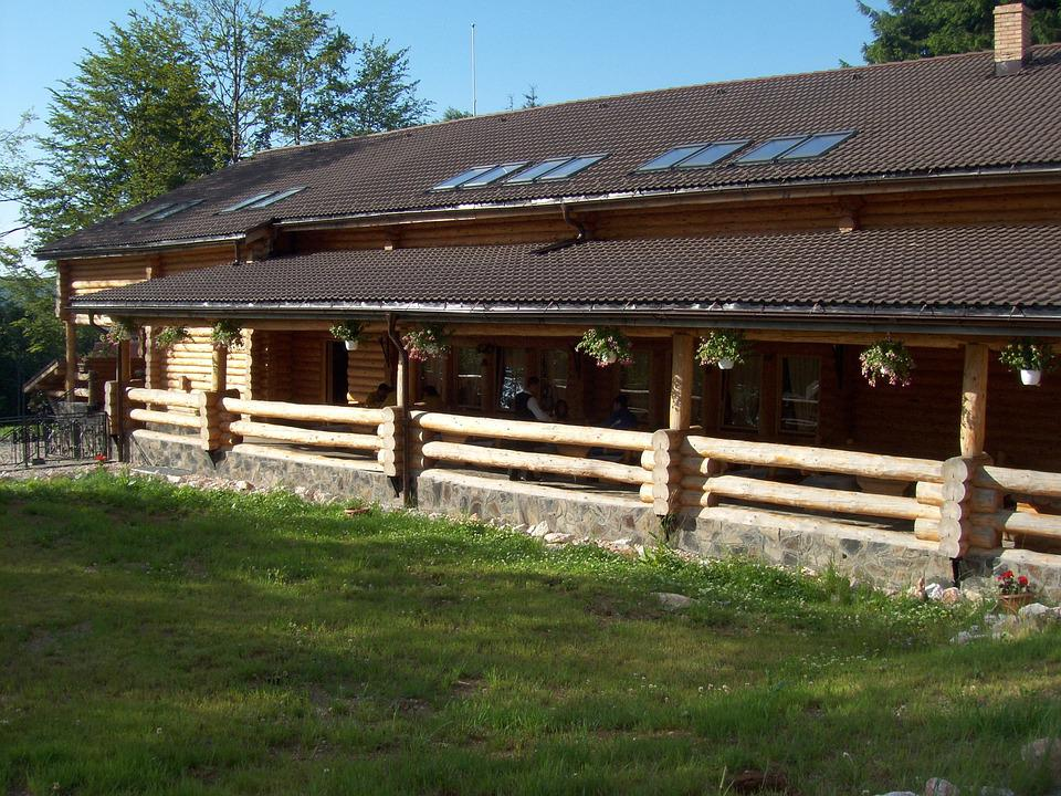 Chalet, Wooden Building, Home, House, Residence