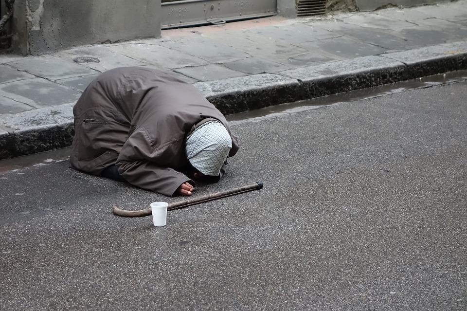 Begging, Homeless, Beggar, Poverty