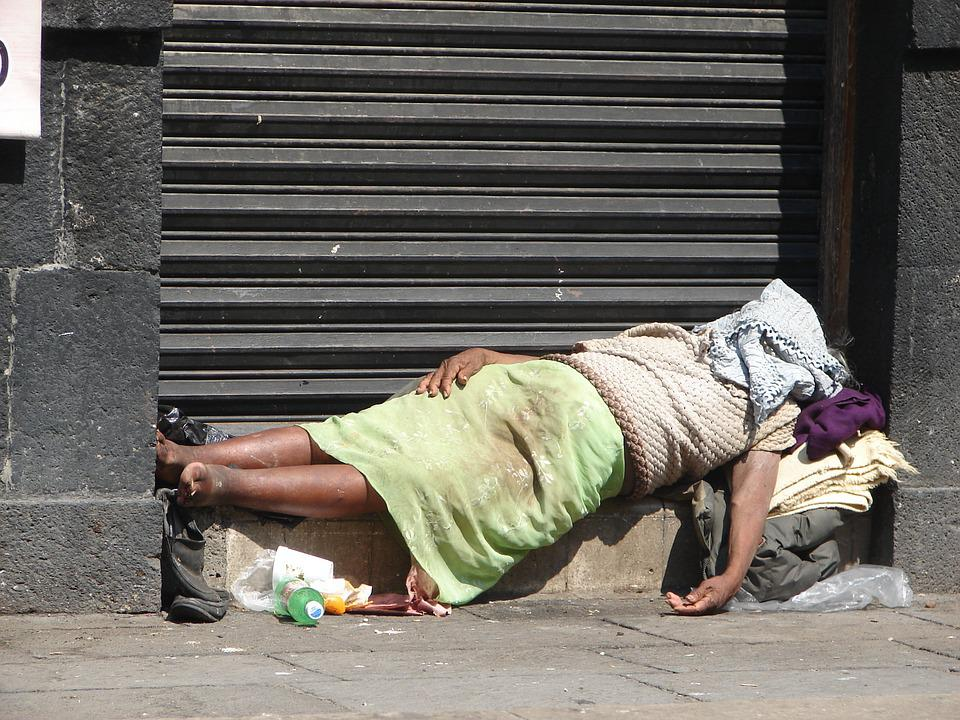 Homeless, Mexico City, Mexico