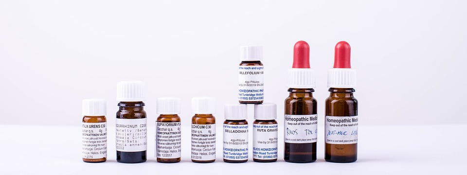 Homeopathy, Medicine, Bottles, Natural Science