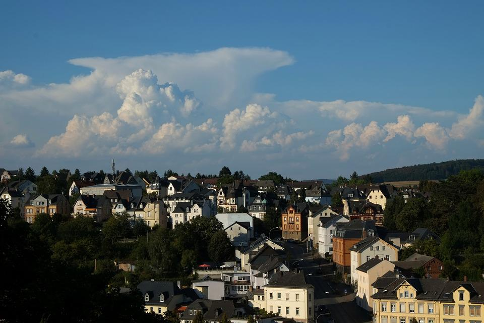 Weilburg At Lahn, City, Homes, Building, Roofs