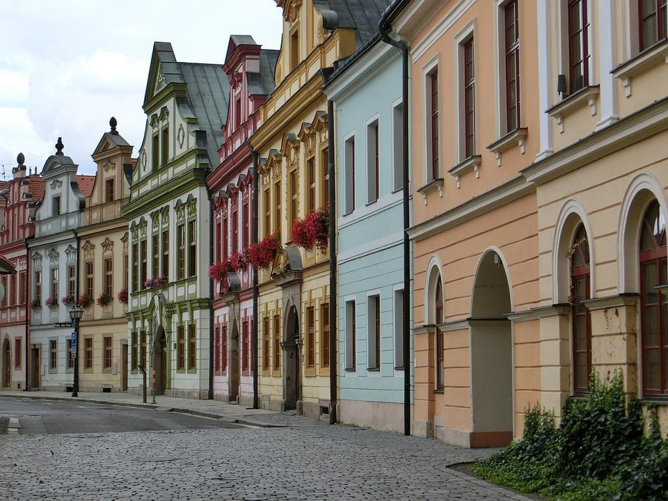 Hradec Kralove, Homes, Czech Republic, Architecture