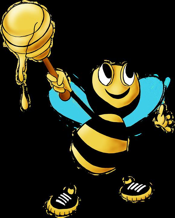 Honey Bee, Bee, Honey, Animal, Insect, Yellow, Nectar