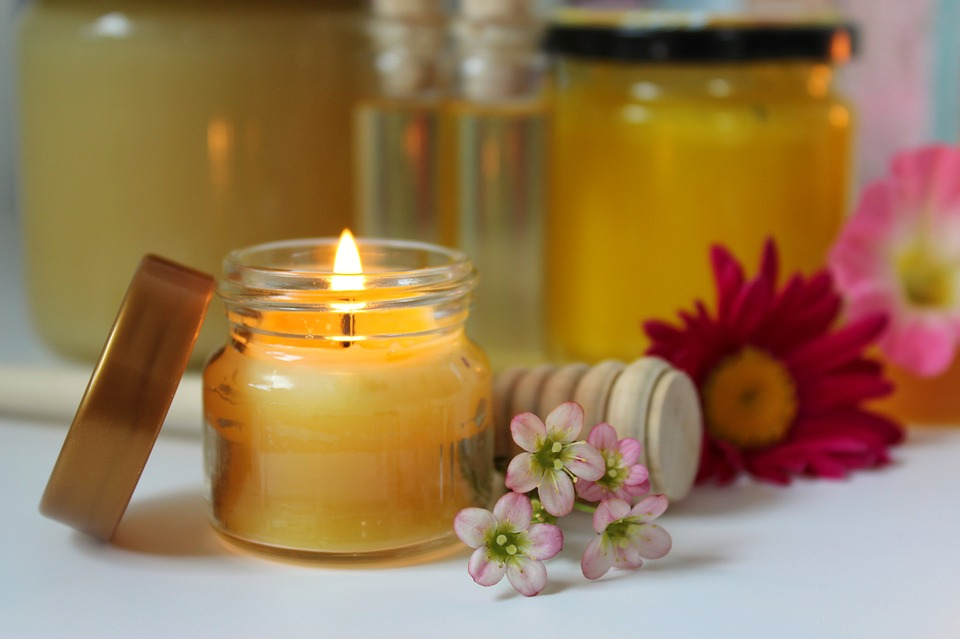 Beeswax Candle, Beeswax, Honey Products, Still Life