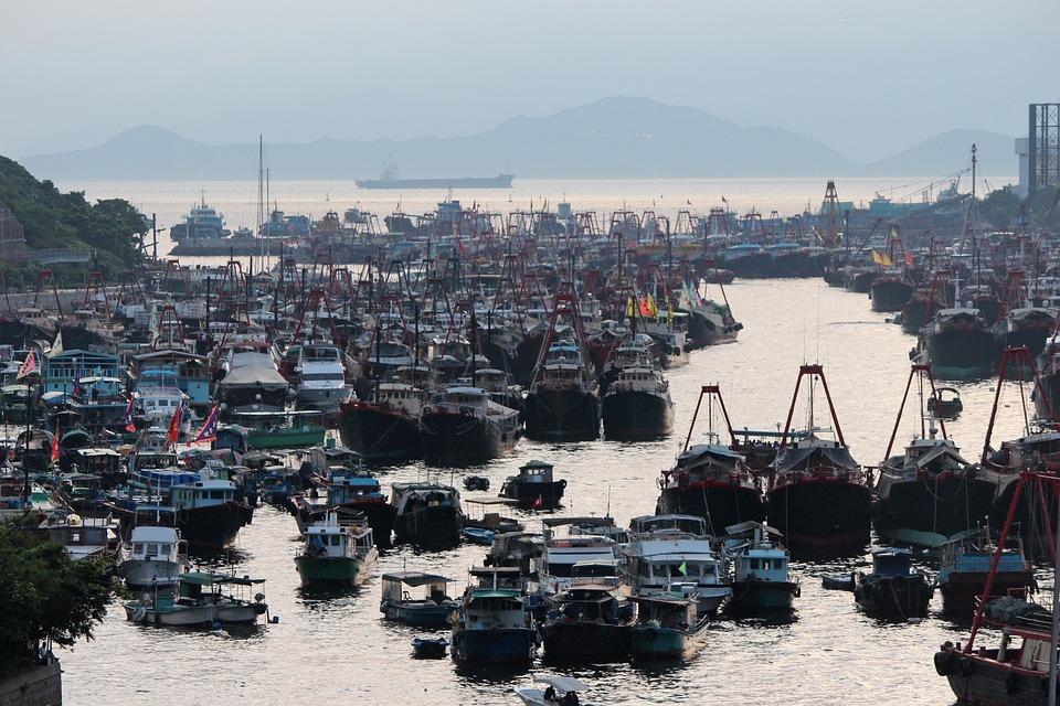 Floating Village, Aberdeen, Hong Kong
