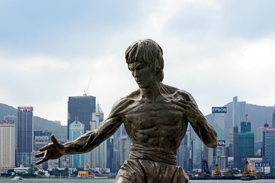 Bruce Lee, Hong Kong, Hong Kong Victoria Harbour
