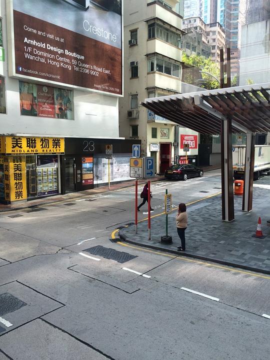 Hong Kong, Street View, Building