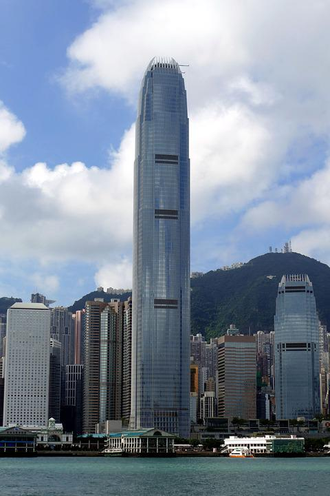 Hong Kong, China, Skyscraper, Asia, Big City, Skyline
