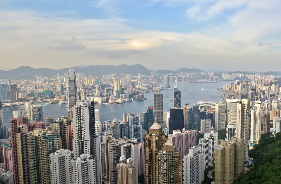 Hong Kong, City Scape, Victoria Peak, Travel, Landmark