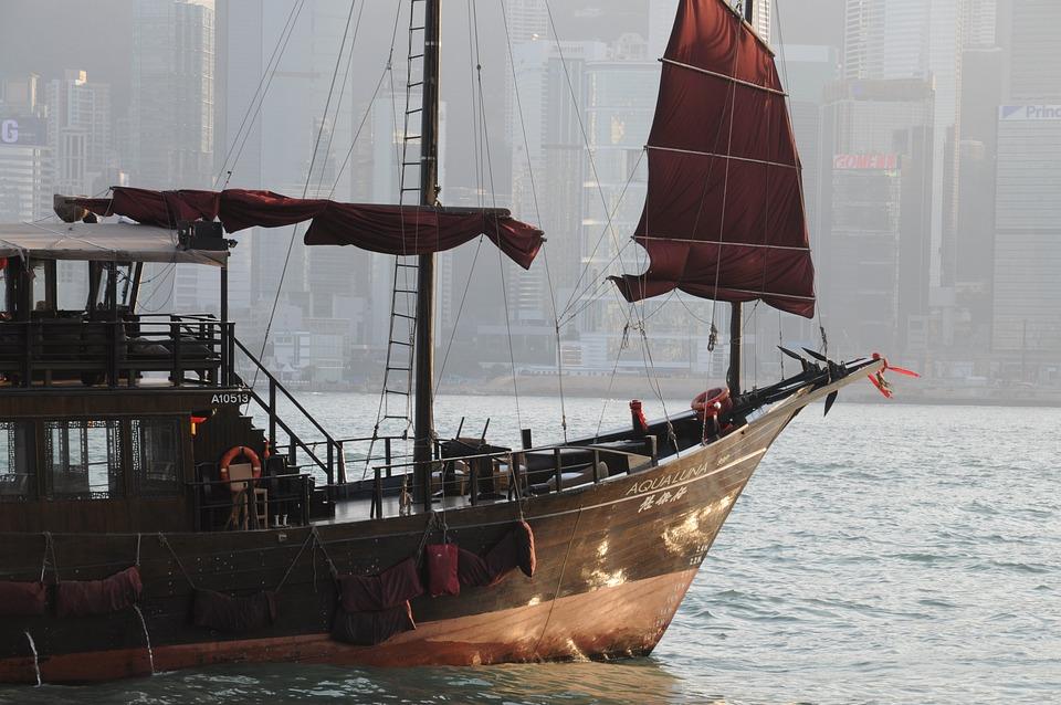 Hong Kong Junk Boat, Hong Kong Symbol