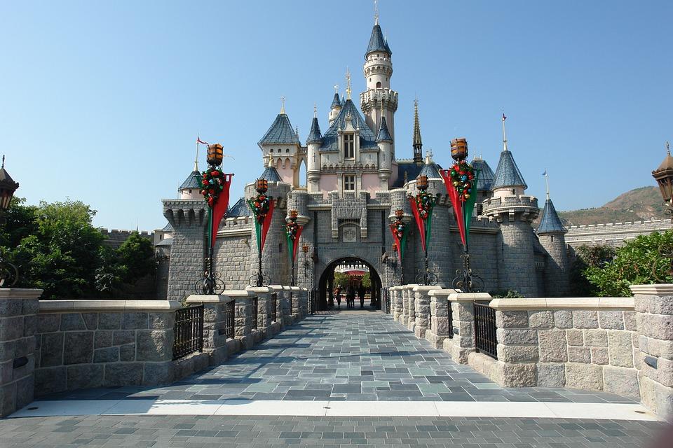 Hongkong, Hongkong Disneyland, China, Asian