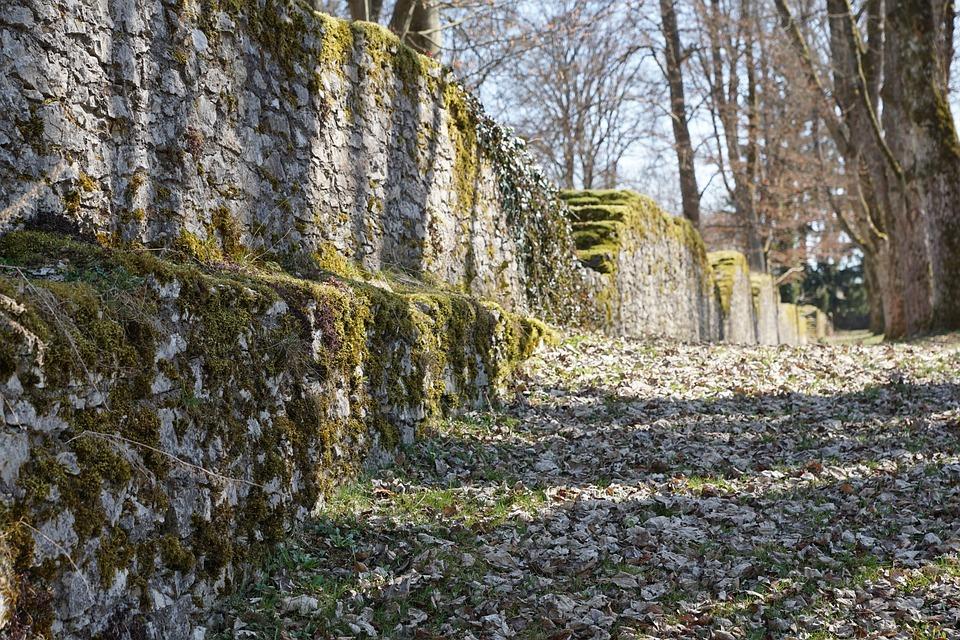 Ruin, Wall, Park, Castle, Honing Mountain, Tuttlingen