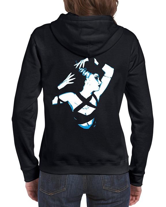 Free photo Hoodie Clothing Jacket Sweatshirt Sweater Template - Max ...