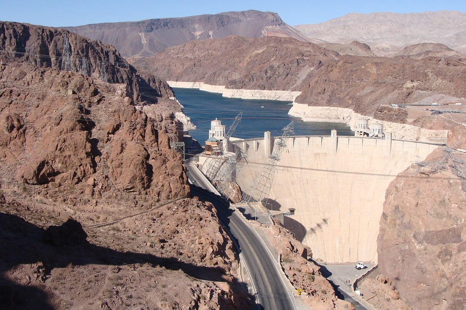 Hoover Dam, Nevada, West, Dam, Hoover, Arizona