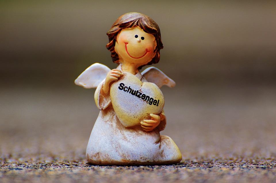 Guardian Angel, Angel, Cute, Fig, Hope, Faith, Security