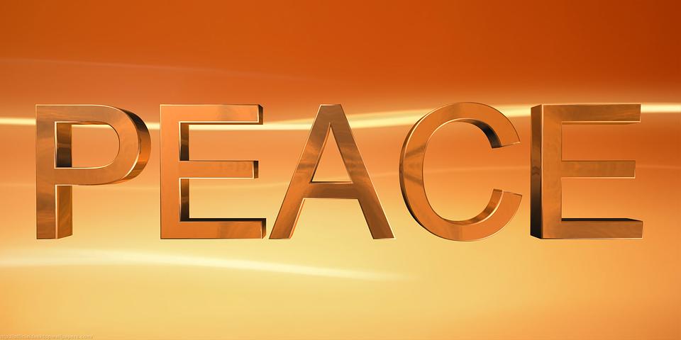 Peace, Love, Harmony, Hope, Happy, Faith, Religion