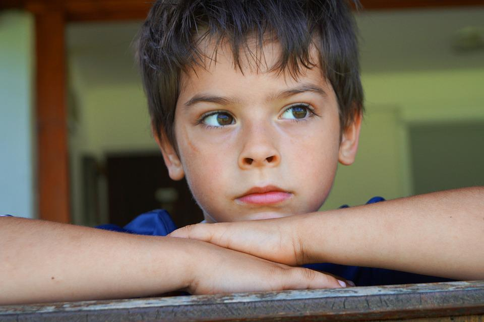 Child, Boy, One, Person, Grief Disappointment, Hope