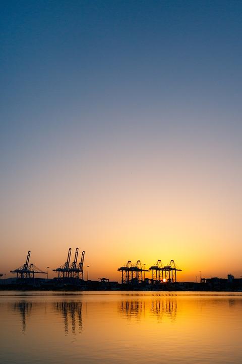Hora Azul, Blue Hour, Amanecer, Sunset, Algeciras