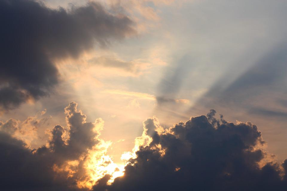Free Photo Horizon Dusk Sky Rest Lighting Sunset Sun Clouds