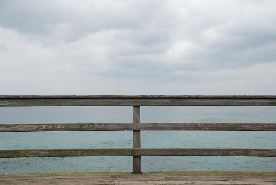 Sea, Viewpoint, Promenade, Coastal, Landscape, Horizon