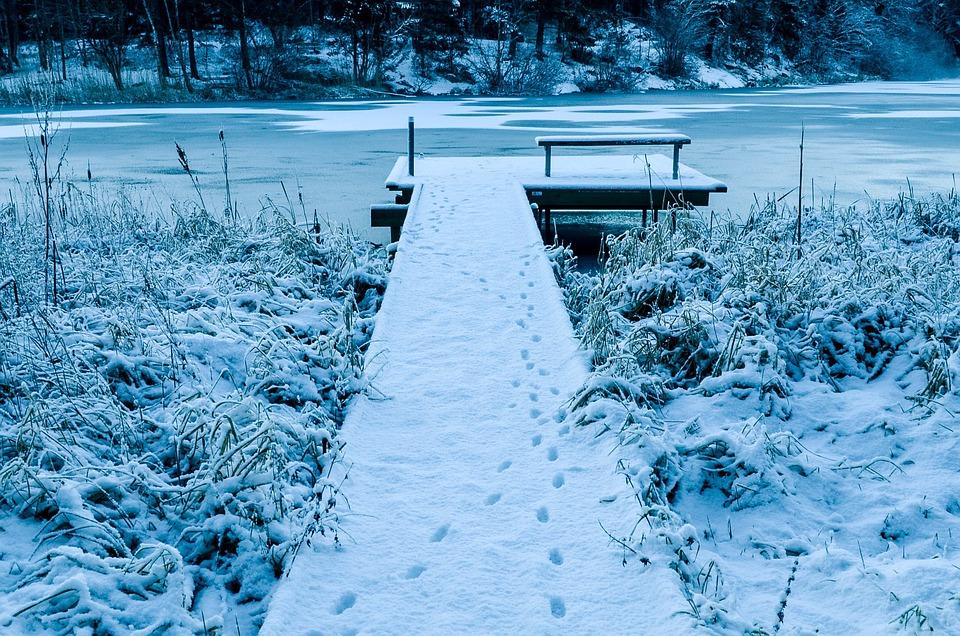 Winter, Snow, Horizon, Landscape, Relaxation, Lake, Ice