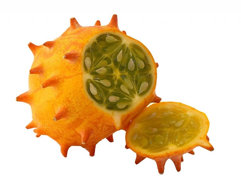 Horn Cucumber, Fruit, Kiwano, Horn Melon