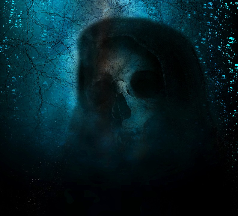 free photo horror evil grim reaper scary spooky death