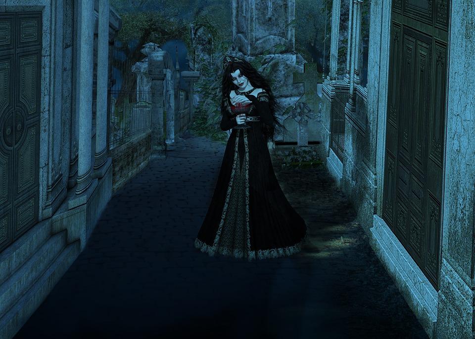 Vampire, Gothic, Fantasy, Horror, Nightmare, Dark
