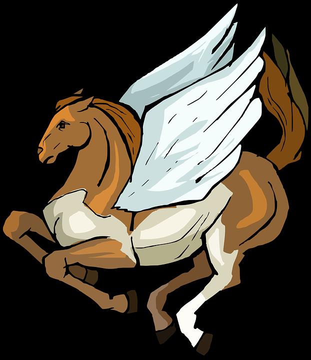 Pegasus, Horse, Wings, Character, Fantasy, Fly